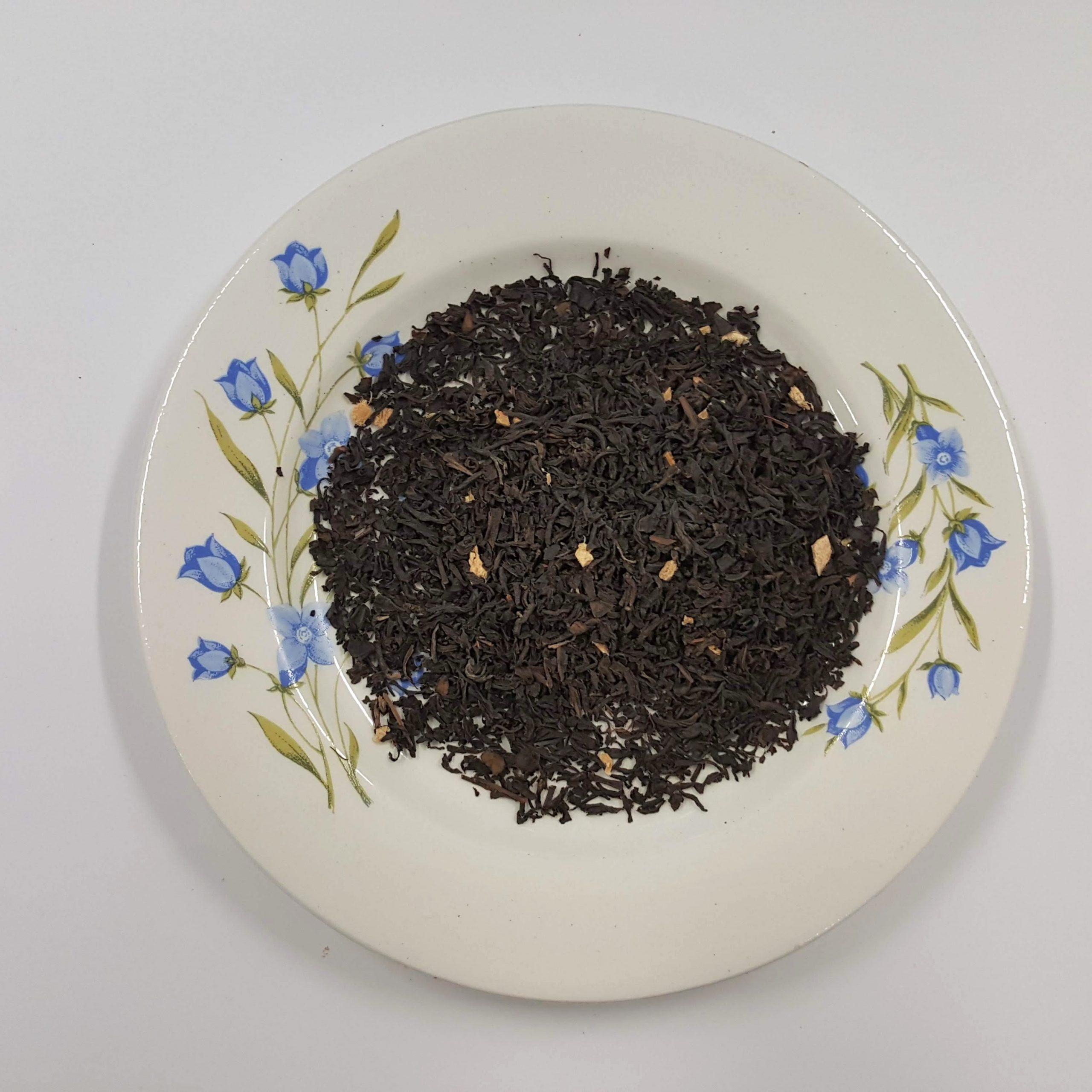 Ingefära, ekologiskt smaksatt svart te